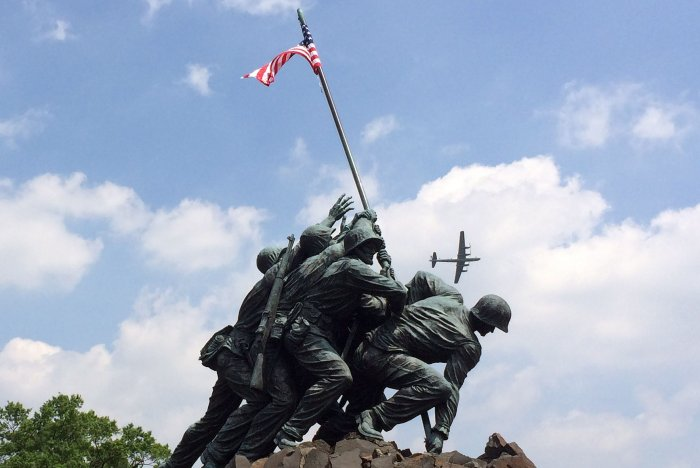 On This Day: U.S. Marines raise flag on Iwo Jima