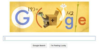 Google doodle celebrates physicist Schrodinger and his 'cat in a box'