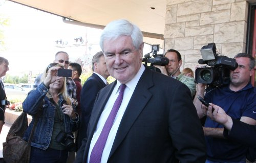 Gingrich on rape comment: 'Get over it'