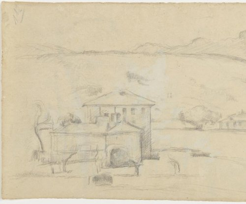 Two Cézanne sketches discovered behind paintings
