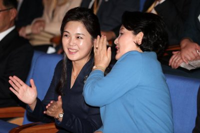 Report: North Korea's Ri Sol Ju jokes to magician about 'disappearing'