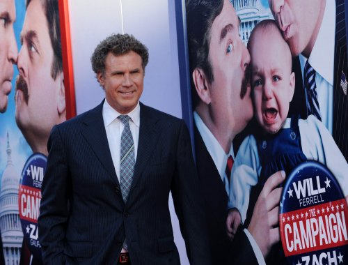 Will Ferrell hits 'The Campaign' trail