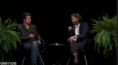 Brat Pitt dodges questions about Jennifer Aniston, losing his virginity on 'Between Two Ferns'