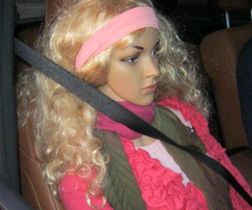 Speeder caught using mannequin to cheat carpool lane in Washington state