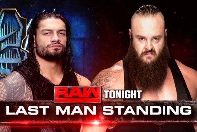 WWE Raw: Roman Reigns, Braun Strowman meet in Last Man Standing Match