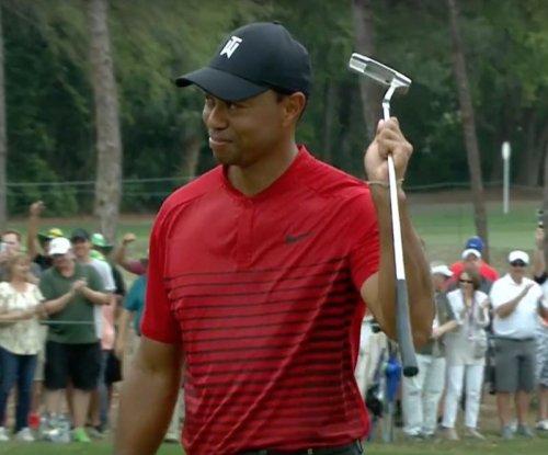 Valspar Championship: Tiger Woods drains 44-foot birdie, finishes second