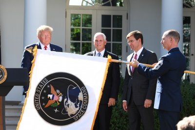 Donald Trump announces official establishment of U.S. Space Command