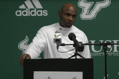 South Florida fires head football coach Charlie Strong