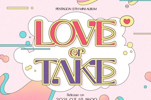 Pentagon shares schedule for 'Love or Take' EP
