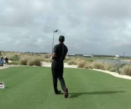 Watch: Tiger Woods' driver swing on every hole of the Hero World Challenge