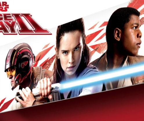 'Star Wars' toy announcement gives first look at Rey in 'Last Jedi'