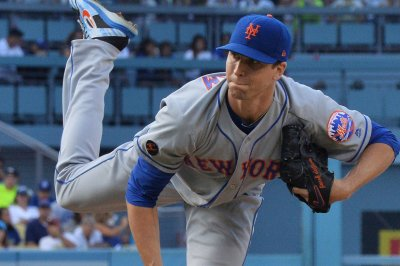Mets' deGrom to start vs. Marlins, weather permitting
