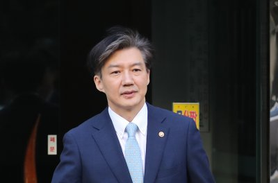 South Korean justice minister's house raided over corruption scandal