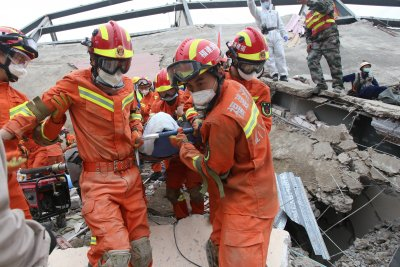 Death toll rises to 26 following China hotel collapse