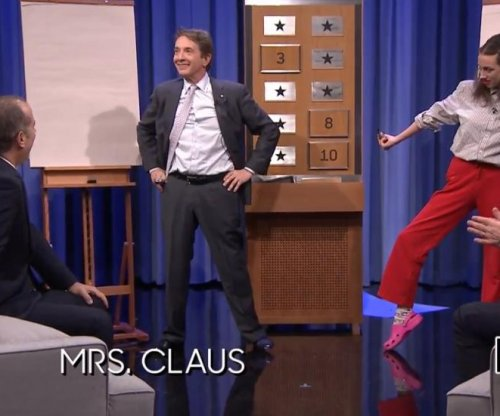 Jerry Seinfeld, Jimmy Fallon, Martin Short play Pictionary on 'Tonight show'