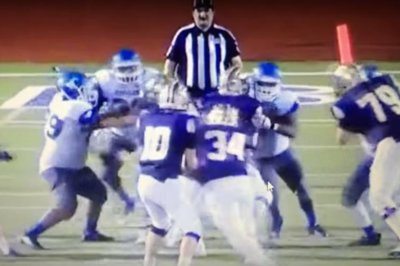 Two Texas high school football players suspended for hitting referee