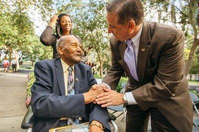 Oldest surviving member of Tuskegee Airmen dies at age 101
