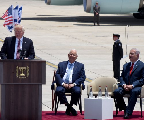 Trump arrives in Israel, says 'great opportunity' for peace