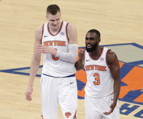 New York Knicks guard Tim Hardaway Jr. out two weeks, Kristaps Porzingis questionable