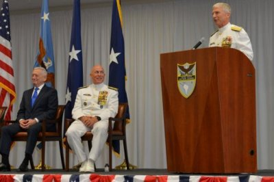 Mattis notes stability of Western Hemisphere at command change ceremony