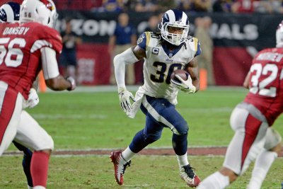 Los Angeles Rams RB Todd Gurley inactive vs. Arizona Cardinals