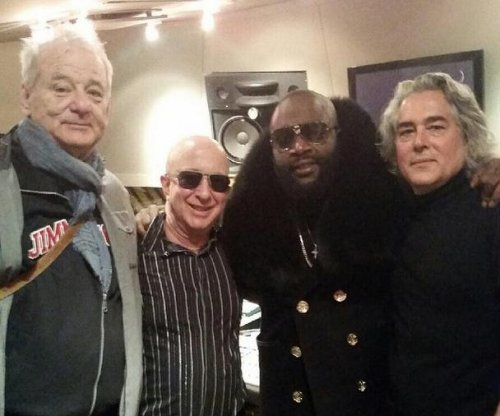 Bill Murray joins Rick Ross in the studio