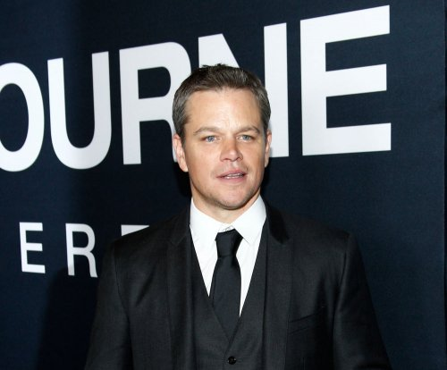 James Corden acts as Matt Damon's 'Jason Bourne' stunt double