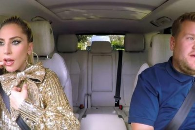 Lady Gaga joins James Corden for Carpool Karaoke