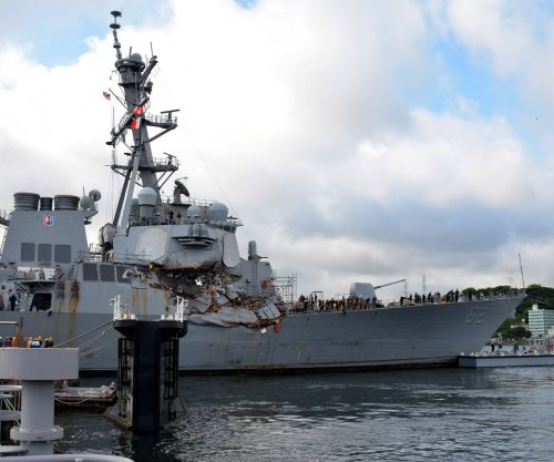 Probe: USS Fitzgerald crew likely to blame for crash