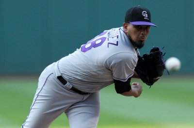 Rockies take on Padres, with goal to keep pace in NL West
