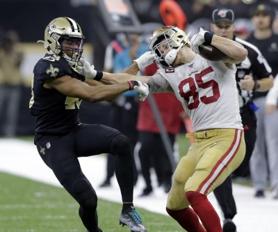 San Francisco 49ers edge New Orleans Saints in 94-point thriller