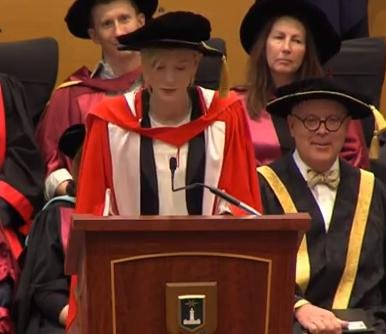 Cate Blanchett receives honorary doctorate from Macquarie University