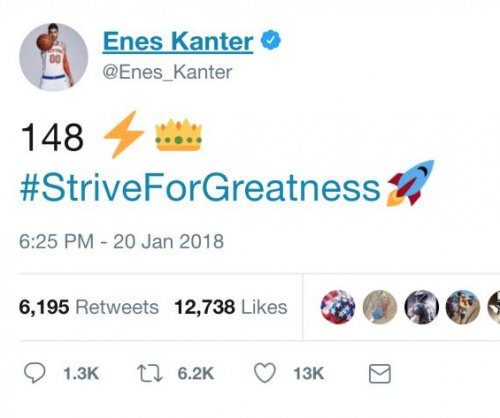 Enes Kanter trolls LeBron James after Cavaliers loss