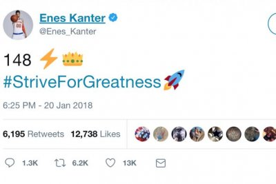 Enes Kanter trolls LeBron James after Cavaliers loss