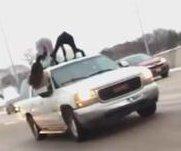 Women twerk atop moving vehicle on Missouri highway