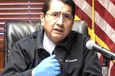 Navajo Nation reservation COVID-19 outbreak strains hospitals