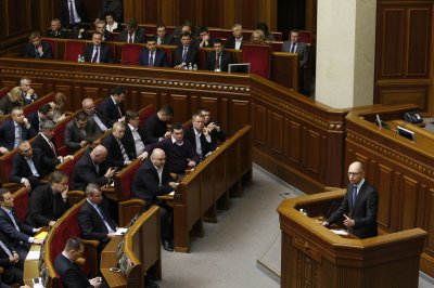 Ukraine's Parliament considers anti-corruption laws ahead of elections