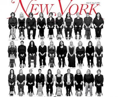 35 Bill Cosby accusers pose for New York Magazine cover