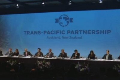 U.S., 11 nations sign contested Trans-Pacific trade deal; Sanders vows to kill it if elected