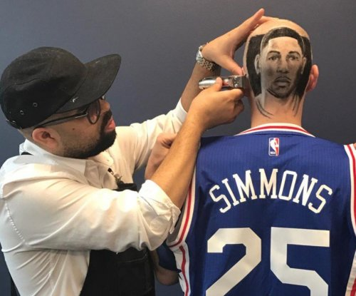 Philadelphia 76ers fan gets 'fresh' Ben Simmons haircut