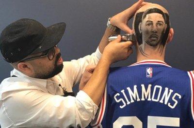 Philadelphia 76ers fan gets 'fresh' Ben Simmons haircut