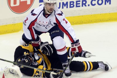Washington wins in OT, but Pittsburgh loses Crosby