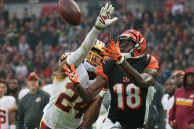 Cincinnati Bengals receiver A.J. Green listed as questionable