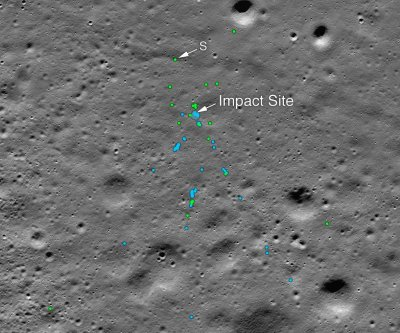 NASA helps India find Vikram Lander lunar crash site