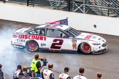 NASCAR: Brad Keselowski wins, Joey Logano flips car at Talladega
