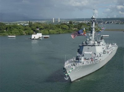 BAE to continue servicing cruisers, destroyers at Pearl Harbor