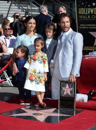 Matthew McConaughey receives Walk of Fame star
