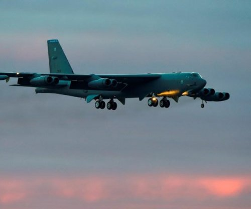 B-52 bombers demo long reach of U.S. air power