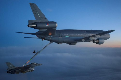 European forces conduct aerial refueling training
