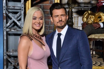 Katy Perry supports Orlando Bloom at 'Carnival Row' premiere